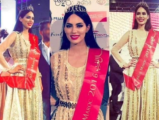 Couronne Miss Maroc 2016 signée Rafinity