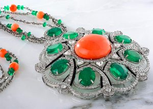 Collier Haute joaillerie diamants Rafinity