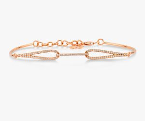 Bracelet-contemporain-en-or-blanc-18K diamants