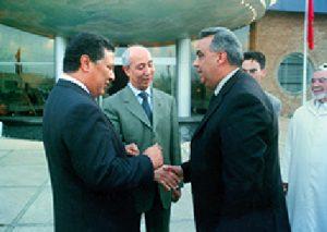 M. El Hajouji en compagnie de M. driss jettou