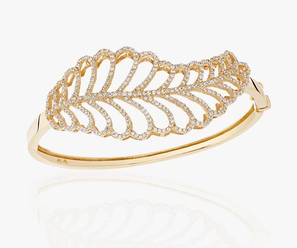 bracelet-en-or-18K-arbore-une-ravissante-feuille