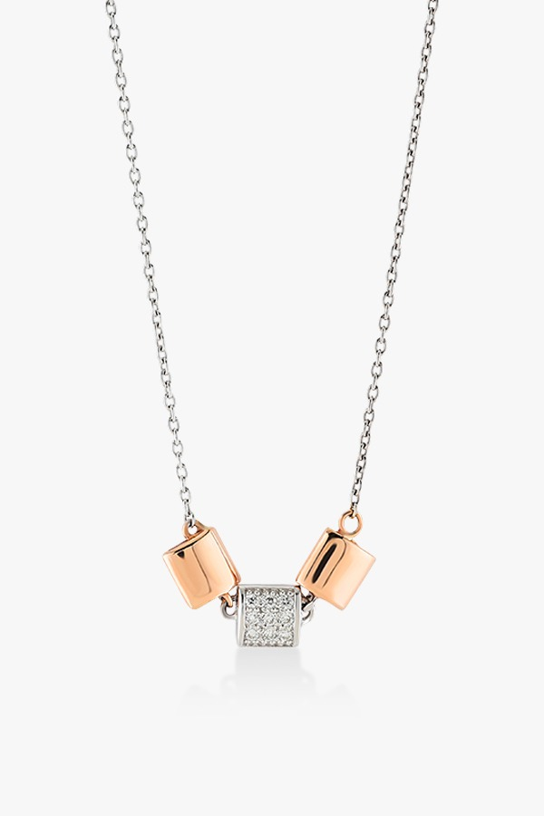Collier-en-or-rose-et-blanc-18K-serti-de-diamants-