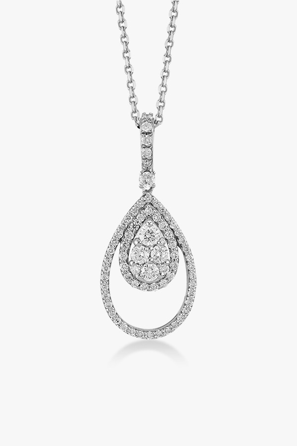 Collier-fabuleux-en-or-blanc-18K diamants