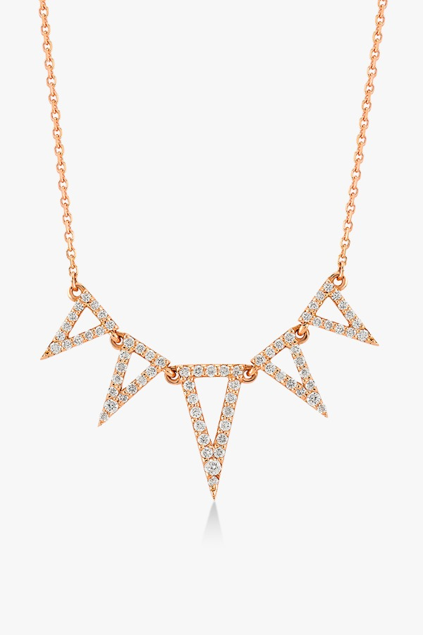 Collier-fashion-en-or-rose-18-K-serti-de-diamant