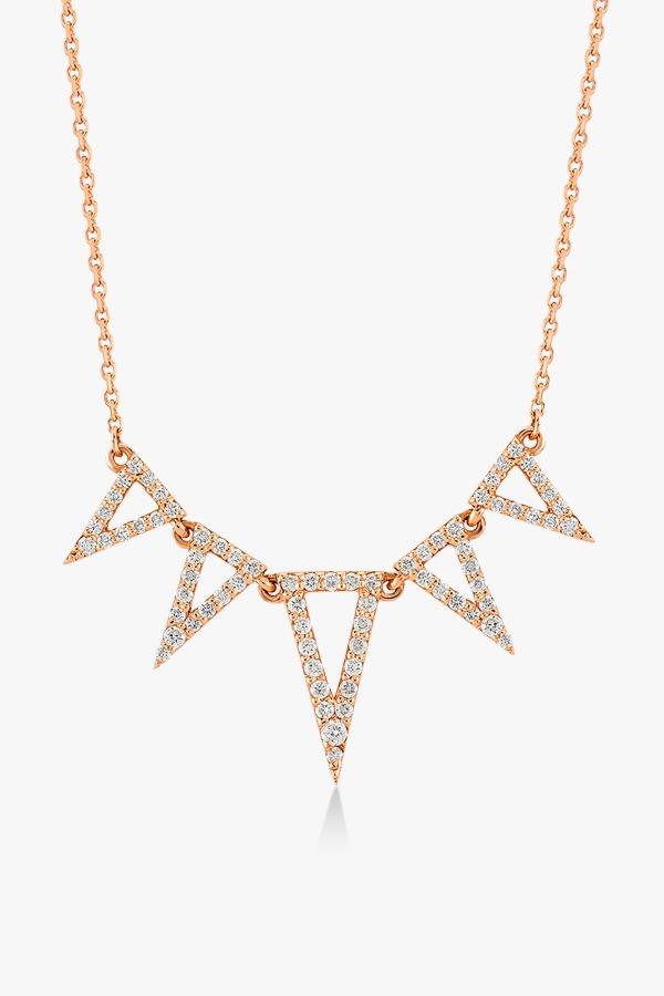 Collier-fashion-en-or-rose-18-K-serti-de-diamant