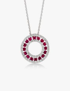 Collier-magnifique-en-or-blanc-18K diamants