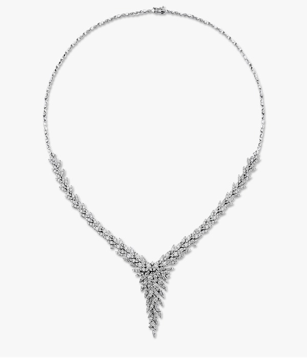 White gold and Rafinity diamond adornment