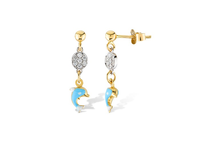 diamond earings Rafinity