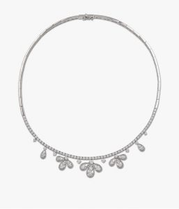 Parure en or blanc et diamants Rafinity