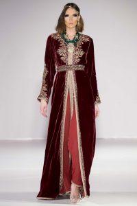 Défilé de caftans de Rafinity Haute couture