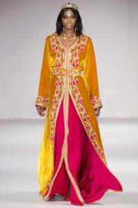 Rafinity Haute couture caftan marocain velour