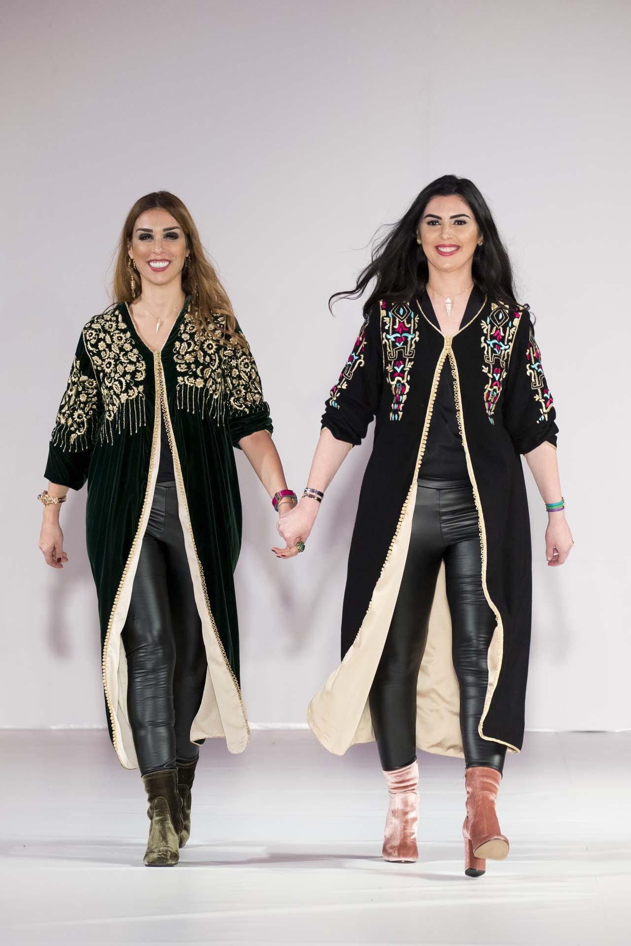 El Hajouji sisters Haute couture