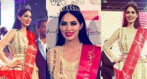 Miss Maroc avec le diadème de Rafinity